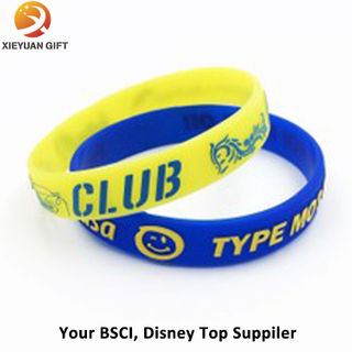 Hot Sales Custom Blue Silicone Fragrance Bracelet