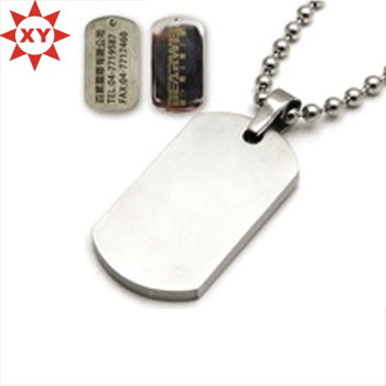 Hot Sell Engraving Logo Custom Dog Tags Made in China (XY-MXL73009)