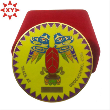 Competitive Price Enamel Hard Enamel Challenge Coin