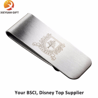 Personalized Laser Engravable Blank Metal Money Clip