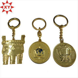 Gold Plating Promotional Key Holders (XY-mxl)