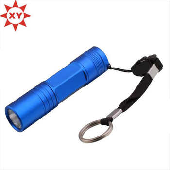 Promotional Small Keyring Light, Mini Keychain Light, LED UV Light