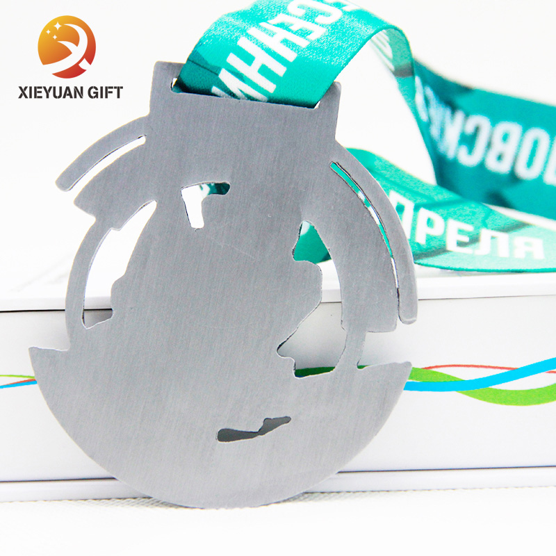 Wholesale 2019 Sports Custom Metal Medal for marathon