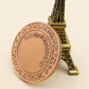 The factory custom High quality cheap golden Double plating Challenge COINS