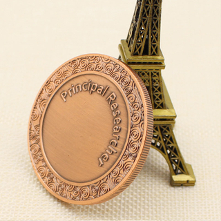 Custom High Quality Cheap Ancient Copper Double Plating Challenge COINS