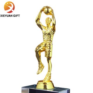 Wholesale sports basketball cheap metal trophy cups