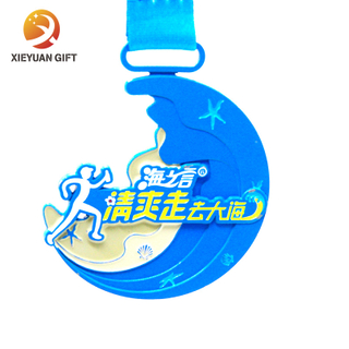 Customized Blue Summer Sea Words Sports MEDALS