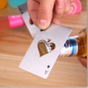 Factory Direct Customize The High Quality Zinc Alloy Beer The Credit Card A Bottle Opener