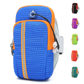 Multi-functional Sports Zipper Arm Bag for Carrying Water Cup Wallet Key, Etc