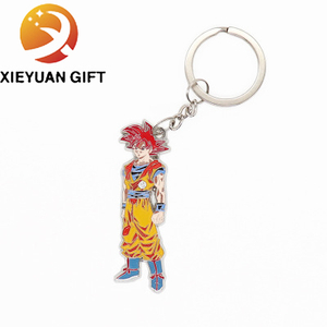 Professional Customized Cheaper Metal The Monkey King Keychain