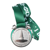 China Factory Marathon Sports Awards Soft Enamel Gold Metal Medal